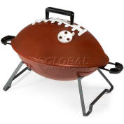 Picnic Time Football Portable Charcoal BBQ Grill