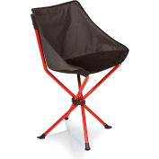 Picnic Time Odyssey Portable Sling Chair Gray/Red