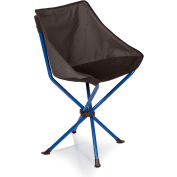 Picnic Time Odyssey Portable Sling Chair Gray/Blue