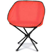 "Picnic Time Sling Chair 789-00-100-000-0, 19""W X 5""D X 5""H, Red"