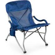 "Picnic Time PT-XL Camp Chair 793-00-138-000-0, 26""W X 31""D X 36""H, Navy"