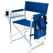 "Picnic Time Sports Chair 809-00-138-000-0, 19""W X 4.25""D X 33.25""H, Navy"