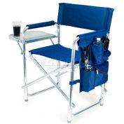 "Picnic Time Sports Chair 809-00-138-000-0, 19""W X 4.25""D X 33.25""H, Navy"