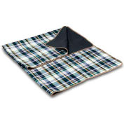 Picnic Time Blanket Tote, English Plaid/Camel