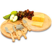 Picnic Time Circo Cutting Board with Cheese Tools