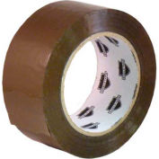 "Tan Acrylic Clear Packing Tape 3"" x 110 Yds 2 Mil 144 Rolls (6 Cases) - Pkg Qty 144"