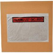 Packing List Enclosed Envelopes, 4.5 X 5.5, 1000 Per Case, Panel Face