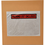 Packing List Enclosed Envelopes, 7.5 X 5.5, 9000 (9 Cases), Panel Face