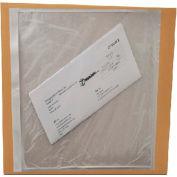 Packing List Envelopes - Clear Plain Re-Closable Enclosed 8 X 10, 2000 (4 Case)