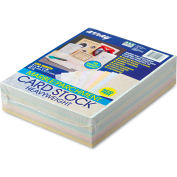 "Pacon® Array Card Stock 101196, 8-1/2"" x 11"", Assorted Bright/Pastel, 250/Pack"