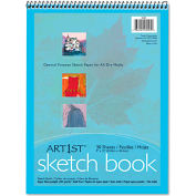 """Pacon® Artist's Sketch Book 103207, 9"""" x 12"""", White, 30 Sheets/Pad"""