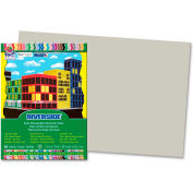 "Pacon® Riverside Acid Free All-Purpose Construction Paper 12"" x 18"" Gray"