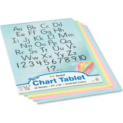 "Pacon® Colored Chart Tablet 74733, 24"" x 32"", Assorted, 1 Each"