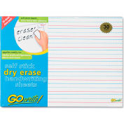 "Pacon® GoWrite Dry Erase Handwriting Shts ASB8511LN, 8-1/4"" x 11"", White, 30 Sheets, 30/Pack"