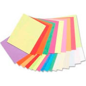 "Pacon® Array Jumbo Card Stock Paper, 8-1/2"" x 11"", 65 lb, Assorted, 250 Sheets/Pack"