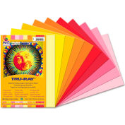 Pacon® Tru-Ray Construction Paper, 76 lbs., 9 x 12, Warm Assorted, 50 Sheets/Pack