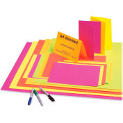"Pacon® 12 Pt Poster Board, 22""W x 28""H, Assorted, 25/Carton"