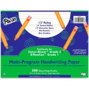 "Pacon® Multi-Program Handwriting Paper, 10-1/2"" x 8"", 1/2"" Ruling, 500 Sheets/Ream"