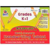 "Pacon® Multi-Sensory Handwriting Paper, 10-1/2""x 8"", 5/8"" Ruling, 40 Sheets/Pad"