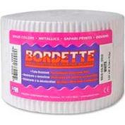 """Pacon® Bordette® Decorative Border, 2-1/4"""" x 50', White, 1 Roll"""