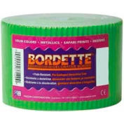 "Pacon® Bordette® Decorative Border, 2-1/4"" x 50', Apple Green, 1 Roll"