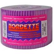 "Pacon® Bordette® Decorative Border, 2-1/4"" x 50', Violet, 1 Roll"
