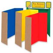 "Pacon® Single Walled Presentation Board, 48"" x 36"", Assorted, 24/Set"