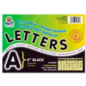 "Pacon® 2"" Self-Adhesive Letters, Black, 159 Characters/Set"