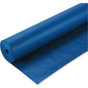 "Pacon® Spectra ArtKraft Duo-Finish Paper, 48 lbs., 48"" x 200 ft, Dark Blue"