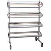 Pacon® Horizontal Mobile Paper Rack, Holds 8 Rolls, Gray