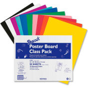 "Pacon® 4-Ply Posterboard, 22""W x 28""H, Assorted, 50/Carton"