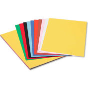 Pacon® Peacock Sulphite Construction Paper, 76 lbs., 12 x 18, Assorted, 50 Sheets/Pack