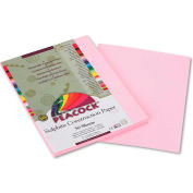 Pacon® Peacock Sulphite Construction Paper, 76 lbs., 9 x 12, Pink, 50 Sheets/Pack