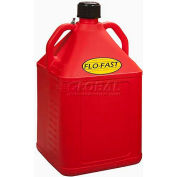 FLO-FAST™ 15 Gallon Polyethylene Gas Can, Red, 15501
