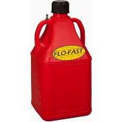 FLO-FAST™ 7.5 Gallon Polyethylene Gas Can, Red, 75001