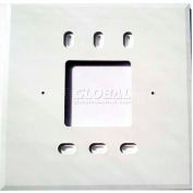 "PECO Wall Plate 69272,  4-11/16"" X 4-11/16"" For T170 Series - Pkg Qty 10"