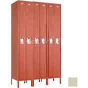 "Penco 6531G-3W-KD-073 Guardian Locker Duplex 3 Wide, 15""W x 15""D x 72""H, Champagne"