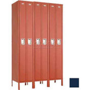 "Penco 6531G-3W-KD-822 Guardian Locker Duplex 3 Wide, 15""W x 15""D x 72""H, Regal Blue"