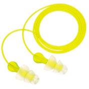 Tri-Flange™ Earplugs, PELTOR P3000, Case of 100 Pair