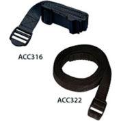 Safety Belt For Flat Panel Component Shelves