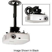 """8.7""""-12.8"""" Adjustable Ceiling And Wall Extension For PRG /PRS Mount - Black"""