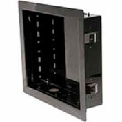 "In-Wall Box For Up to 40"" Flat Panel Screens - Gloss Black"