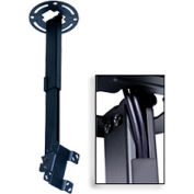 "Pro Universal Ceiling Mount For 15""-24"" Screens, 10""-14"" Extension - Black"