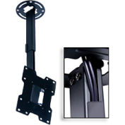 "Pro Universal Ceiling Mount For 15""-37"" Screens, 10""-14"" Extension - Black"