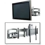 "Universal Dual-Arm Mount w/ Anti-Theft Hardware For 42""-65"" Screens - Silver"