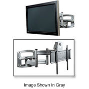 "Universal Dual-Arm Mount w/ Anti-Theft Hardware For 42""-65"" Screens - Black"