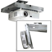 Universal Key-Locking Projector Security Mount - Silver