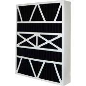 "Honeywell DPFW16X25X5OB Carbon Odor Block Replacement Filter 16"" x 25"" x 5"", 2 Pack"