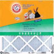 """Arm & Hammer KA20X30X1 Pet Odor Air Filter 20"""" x 30"""" x 1"""", MERV 8, 4 Pack"""
