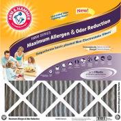 """Arm & Hammer KO16X24X1 Max Carbon Odor Air Filter 16"""" x 24"""" x 1"""", MERV 11, 4 Pack"""